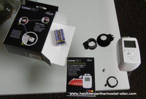 eurotronic comet dect heizk rperthermostat heizk rperthermostat wlan. Black Bedroom Furniture Sets. Home Design Ideas
