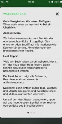 Heat App Update WLAN Thermostat